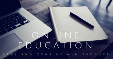 online education pros and cons of MLM Product